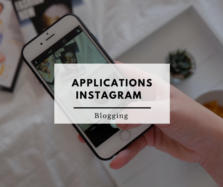Applications pour les stories Instagram